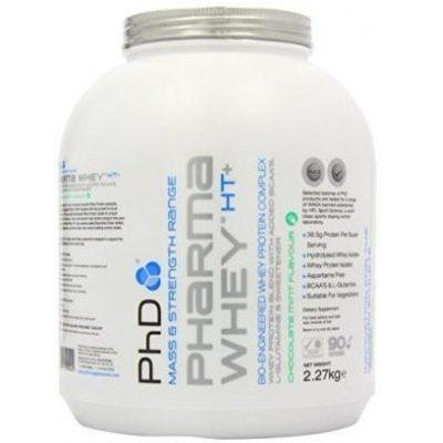 PhD Pharma Whey HT+ Protein Powder 2.25kg - Chocolate Mint