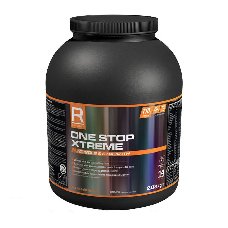 Reflex One Stop Xtreme - 2.03kg - Vanilla Ice Cream