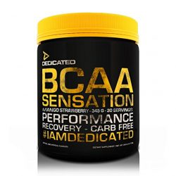 Dedicated BCAA Sensation - 345g - Sour Candy Chews (30 Servings)