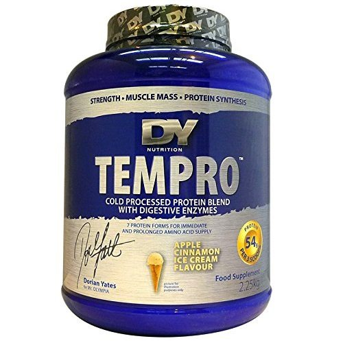 Dorian Yates Tempro - 2.27kg - Apple Cinnamon Ice Cream