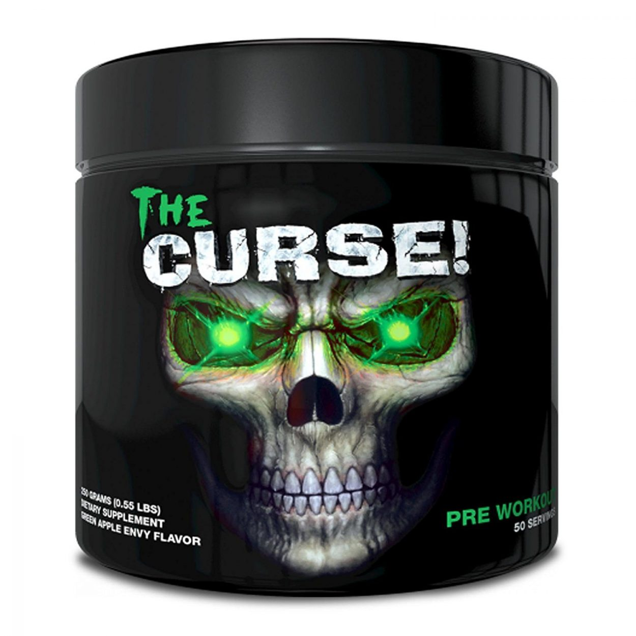 Cobra Labs The Curse Pre Workout - 250g - Green Apple Envy (50 Servings)