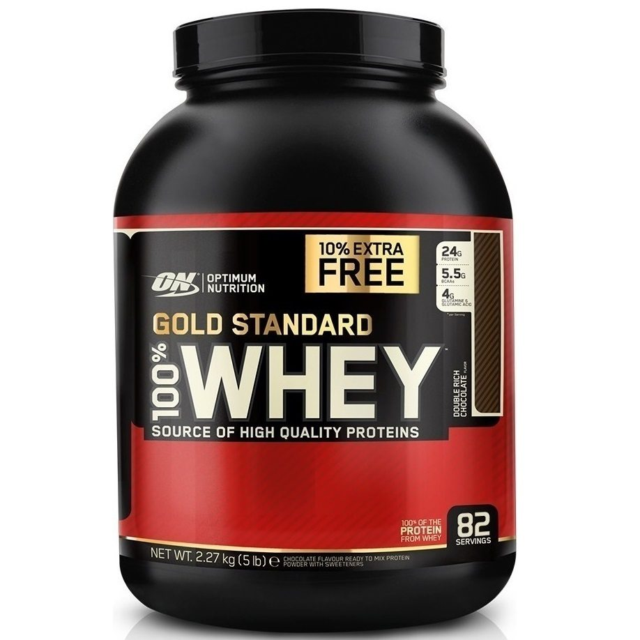 Optimum Nutrition Gold Standard 100% Whey - 2.27kg - Double Rich Chocolate