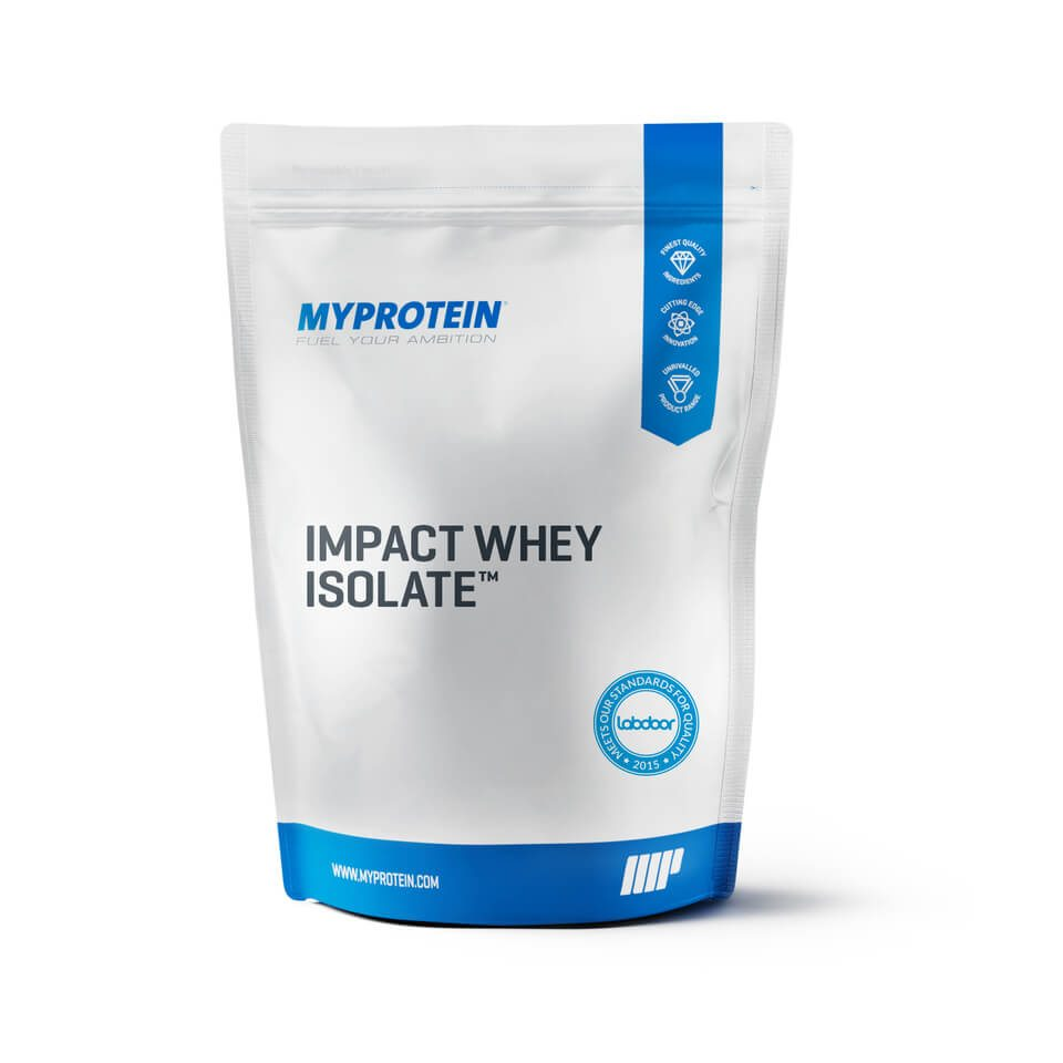 Myprotein Impact Whey Isolate - Unflavoured - 2.5kg