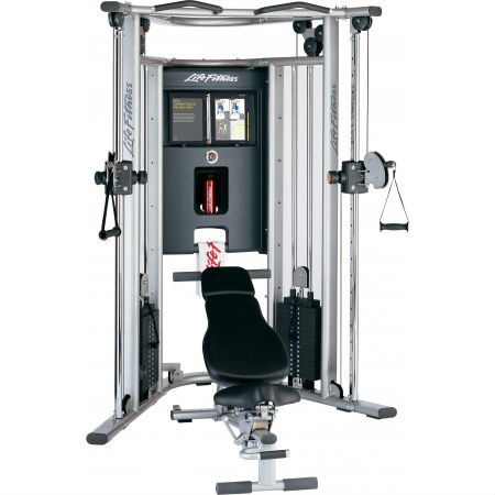 Life Fitness G7 Cable Motion Gym and Bench