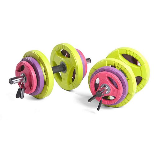 Physical Company 30mm Dumbbell Set – Rubber