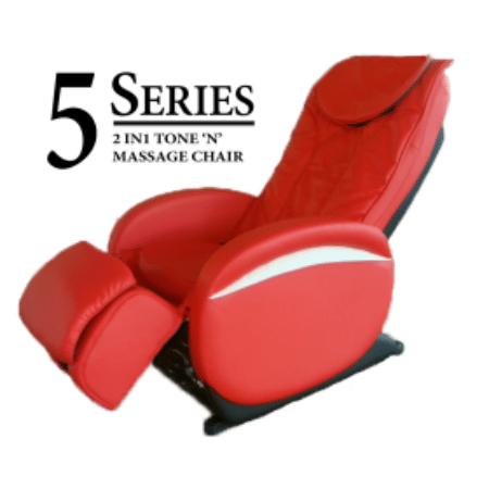Sasaki 5 Series 3D 2 in 1 Tone 'n' Massage Chair