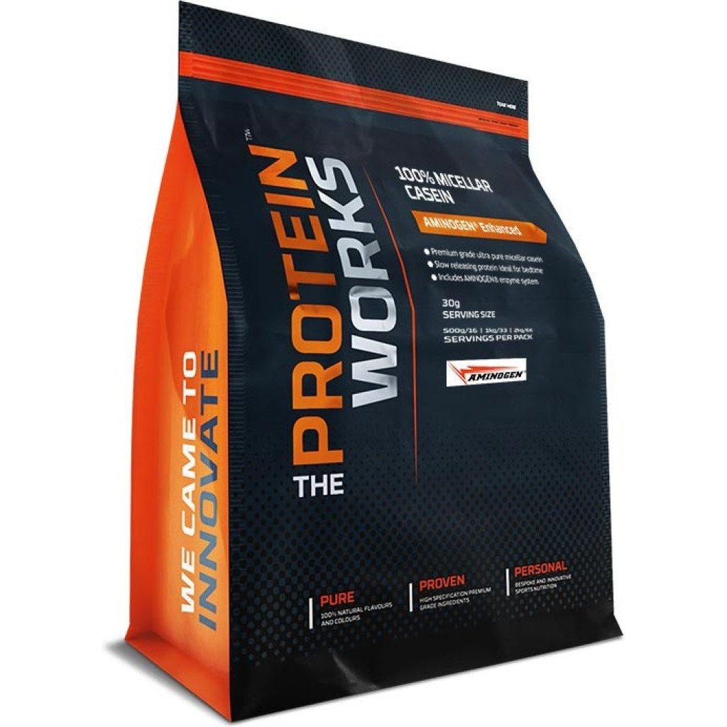 The Protein Works 100% Micellar Casein - 2kg - Chocolate Mint Brownie