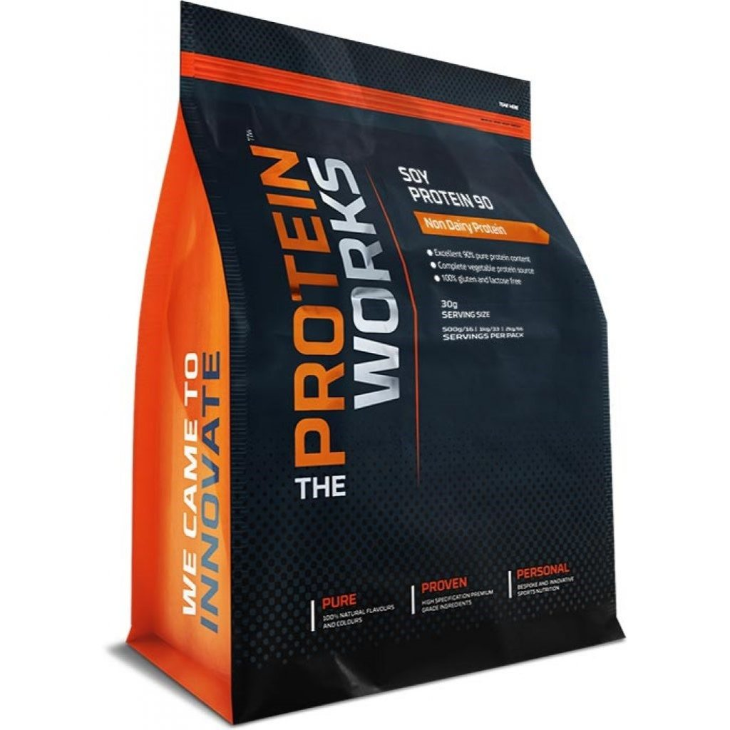 The Protein Works Soy Protein 90 (isolate) - 1kg - Chocolate