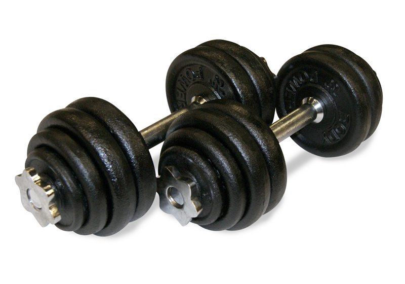 Body Power 30Kg Spinlock Dumbbells Weight Set