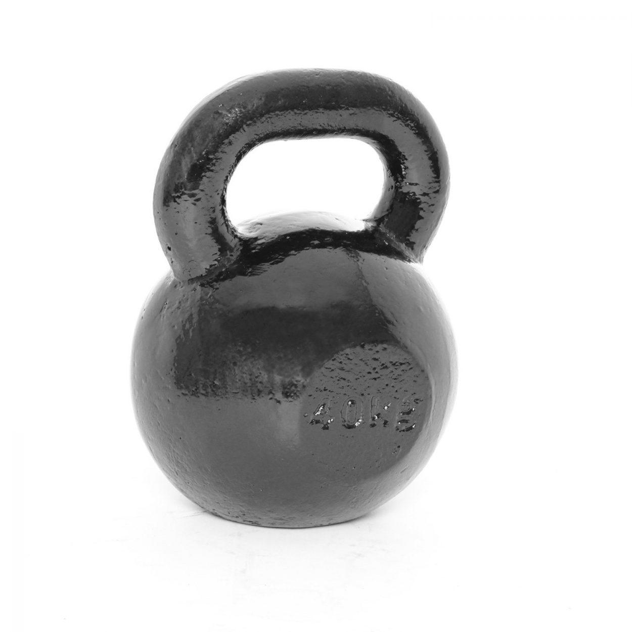 Body Power Cast Iron Kettlebell – 40Kg