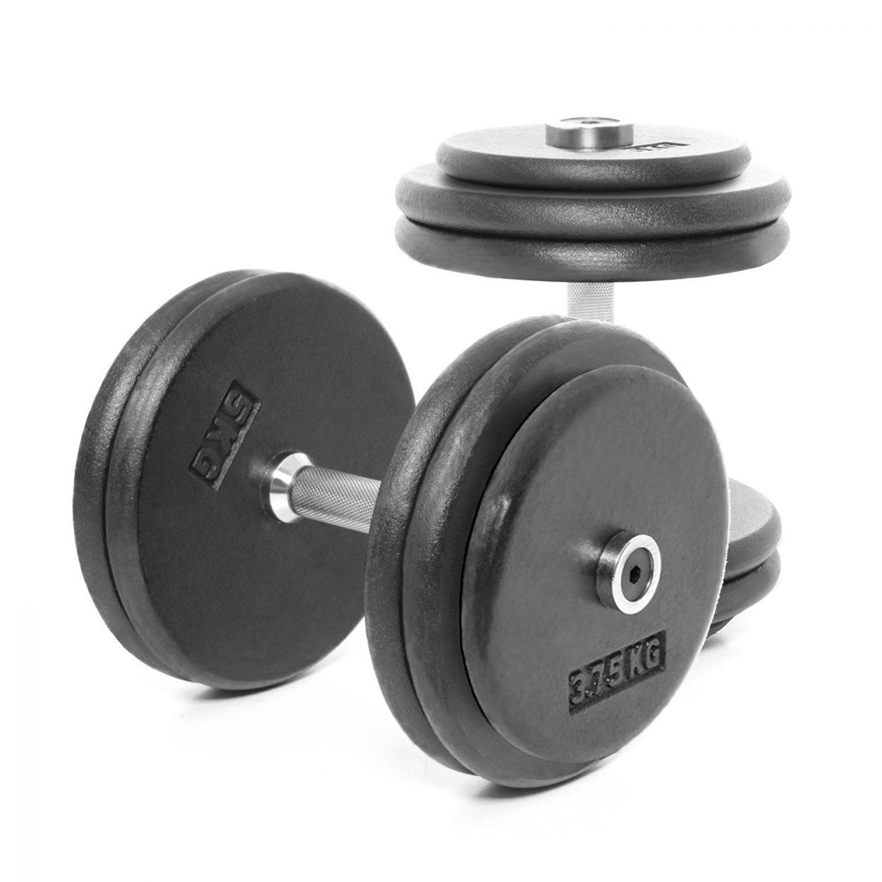 Body Power Pro-style Dumbbells 27.5kg (x2)