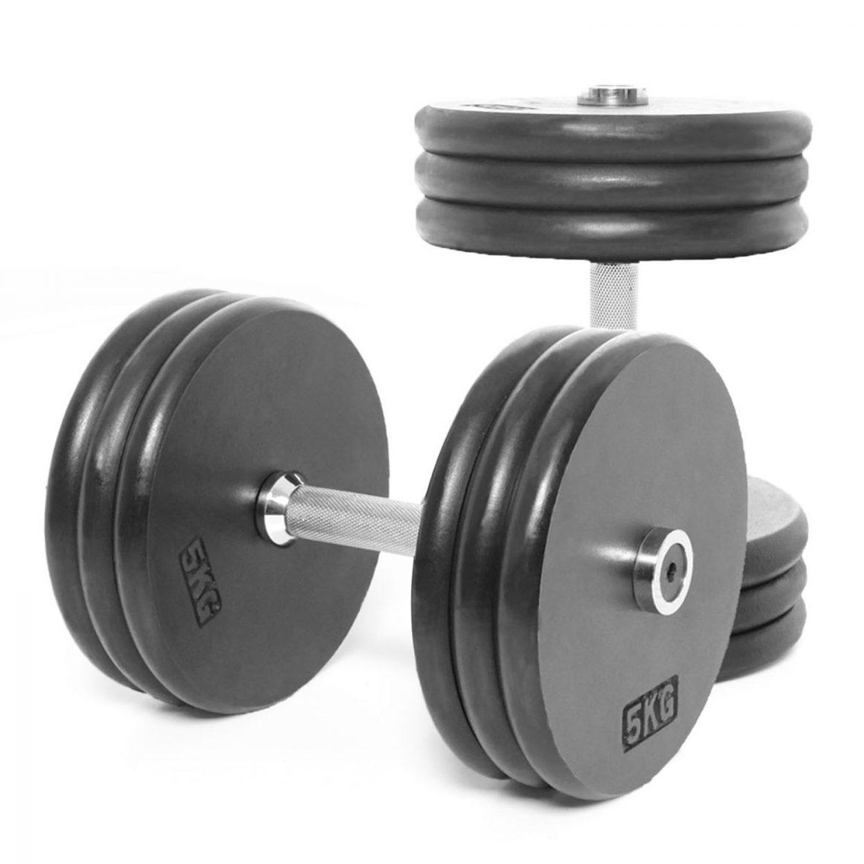 Body Power Pro-style Dumbbells 30kg (x2)