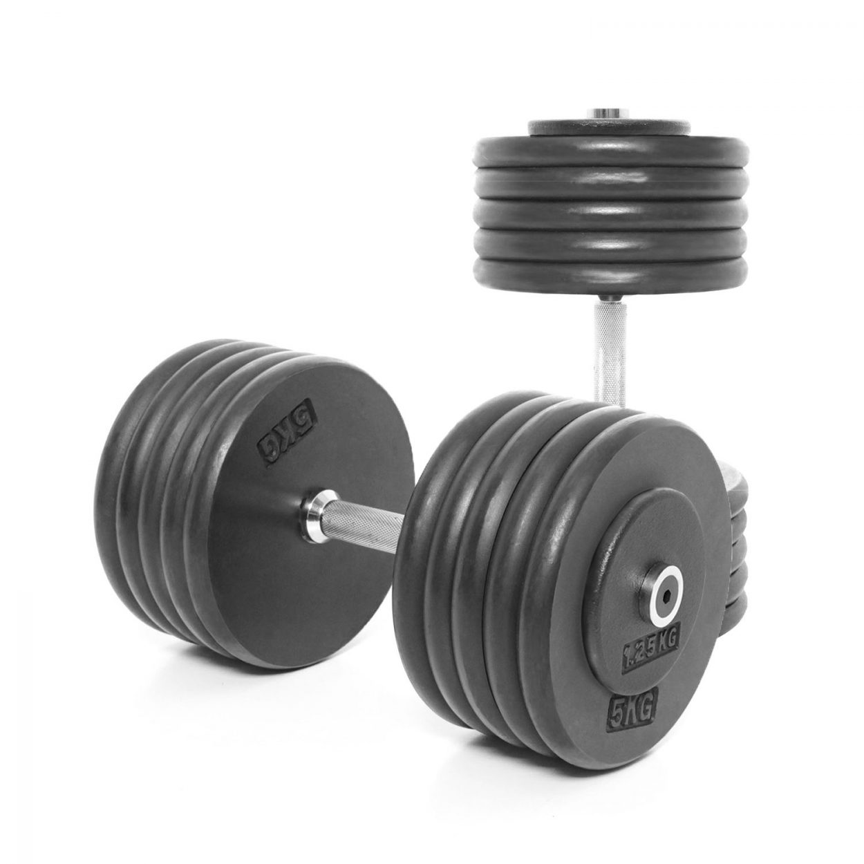 Body Power Pro-style Dumbbells 52.5kg (x2)