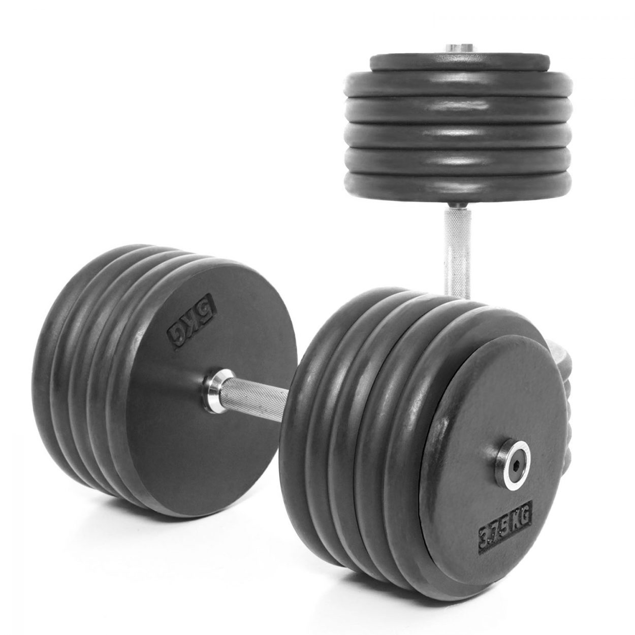 Body Power Pro-style Dumbbells 57.5kg (x2)