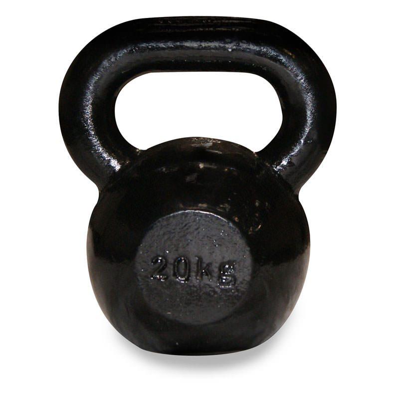 Body Power Cast Iron Kettlebell – 20kg