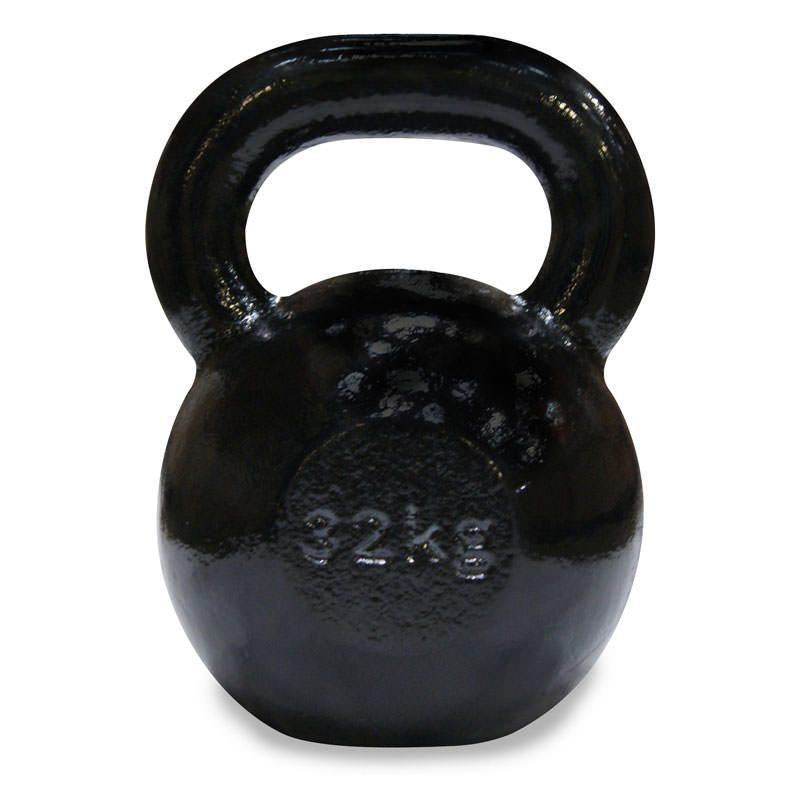 Body Power Cast Iron Kettlebell – 32Kg