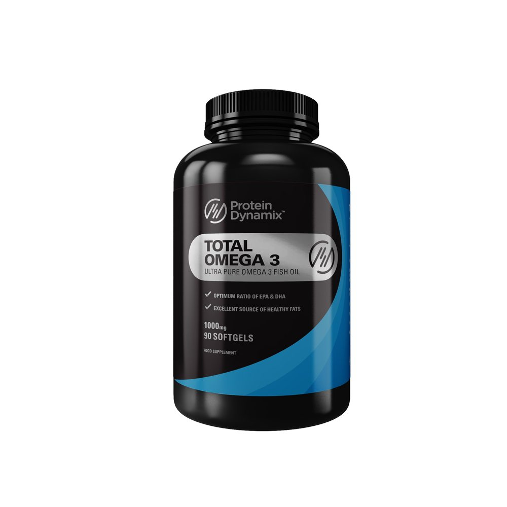 Protein dynamix total omega 3 90 softgels at fitness savvy for Fish oil pills for weight loss