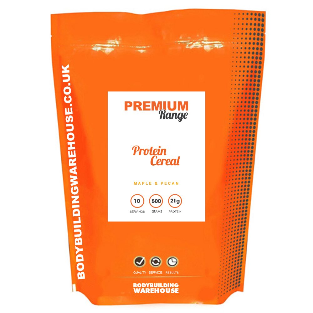 Bodybuilding Warehouse Premium Protein Cereal - 500g