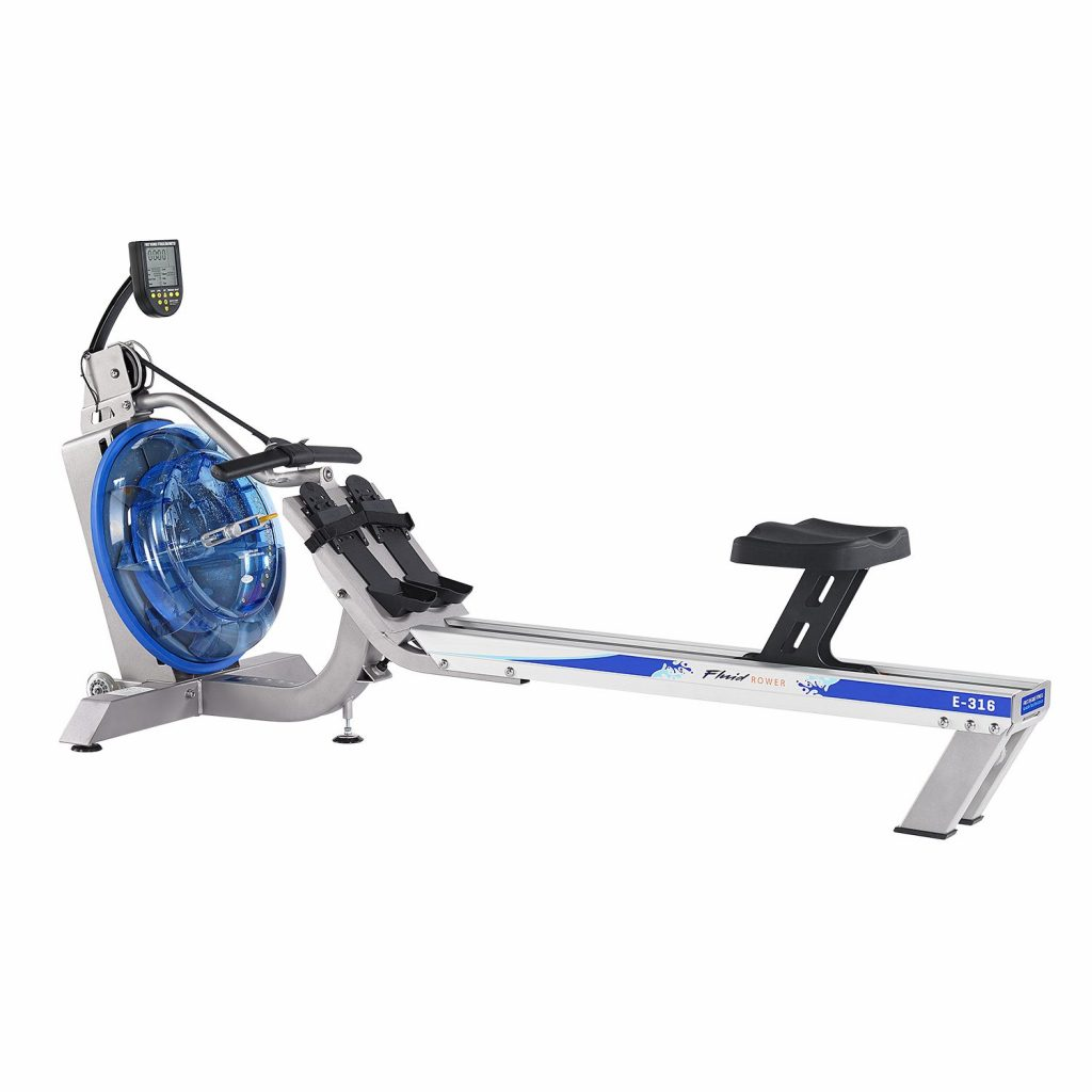 FluidRower E316 Evolution Commercial Series Fluid Rower with Adjustable Resistance