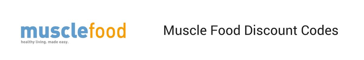 Muscle food discount code voucher