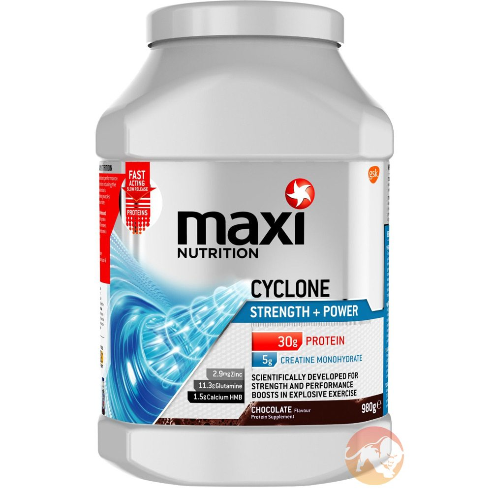 Maxinutrition Cyclone - 1.26kg - Compare Prices At Fitness ...