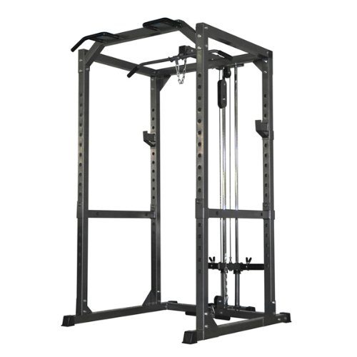 Bodymax CF475 Power Rack with Lat/Low Pulley