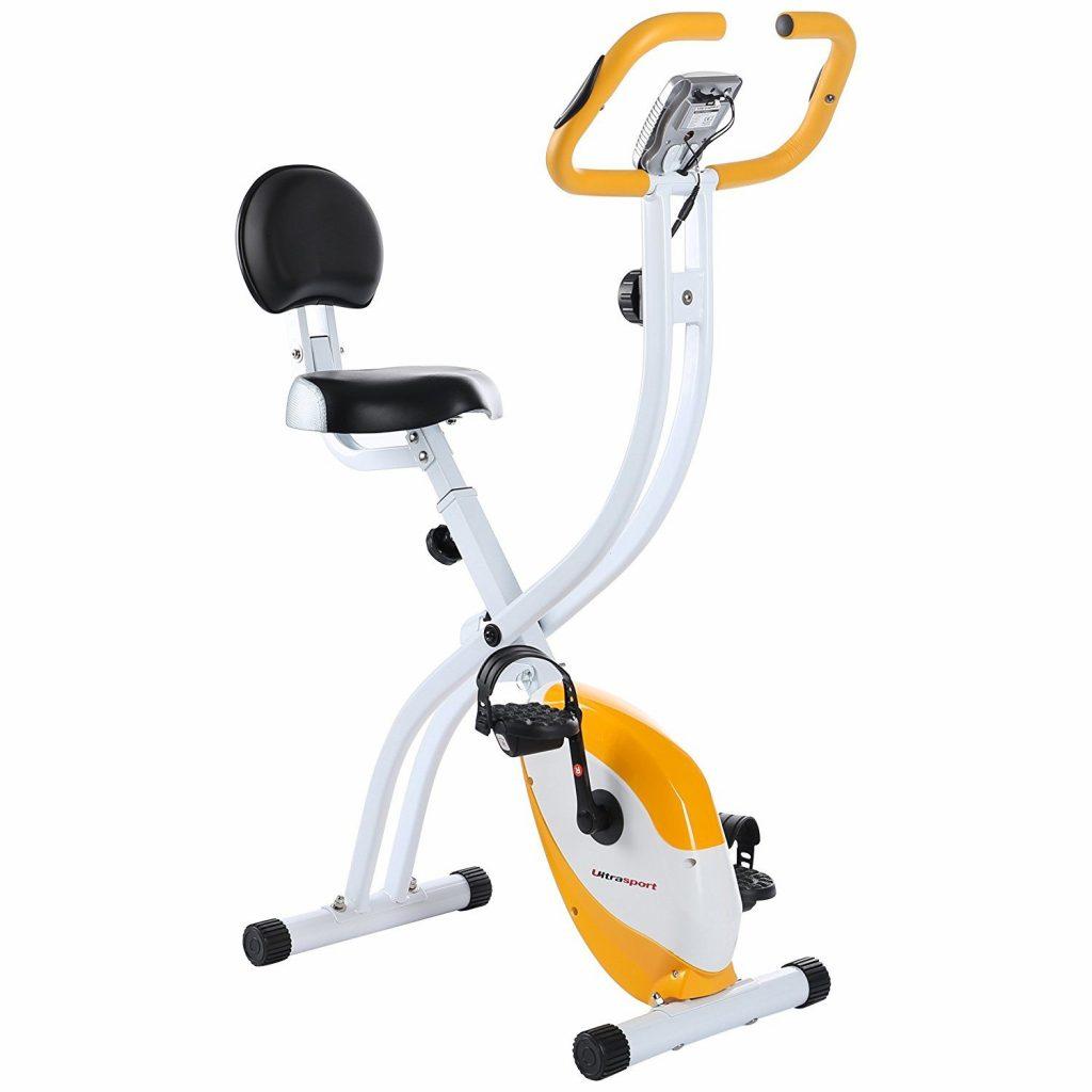 Ultrasport F-Bike Home Trainer 150/200b Home Folding Exercise Bike