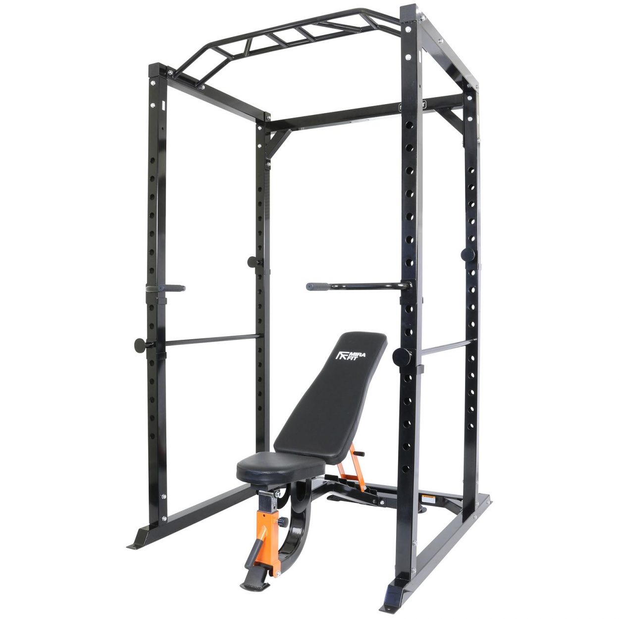Mirafit M2 350kg Power Rack with Semi Commercial Weight Bench
