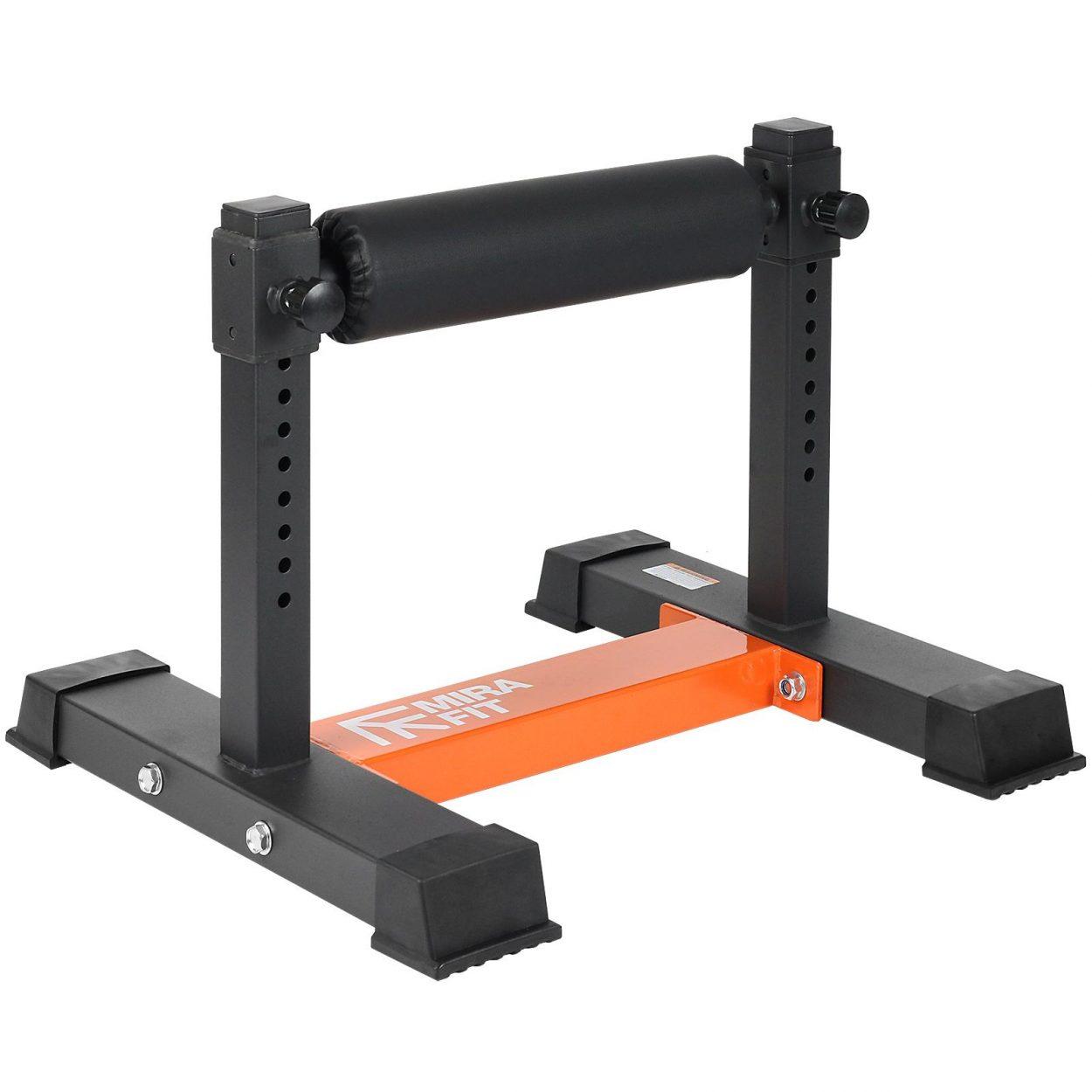 Mirafit Single Leg Split Squat Stand – Fully Adjustable