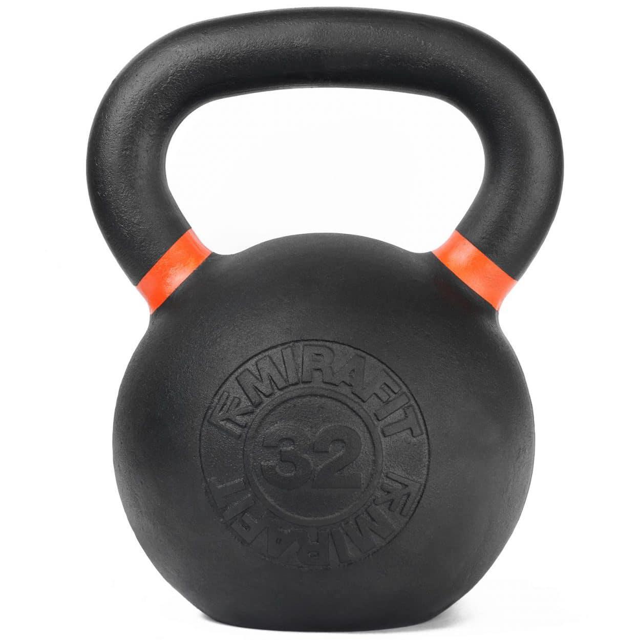 Mirafit Cast Iron Kettlebell – 32kg