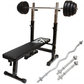 Weight Bench With Weights Set