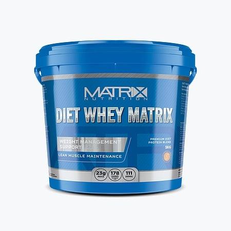 Diet Whey Matrix Protein Powder – 5kg (111 Servings)