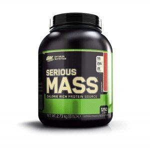 Optimum Nutrition Serious Mass Gainer 2.73kg Strawberry