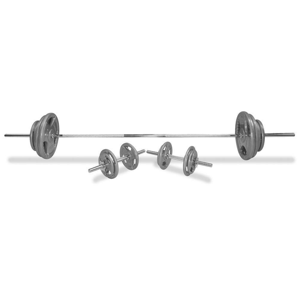 Body Power 5ft Tri-Grip Weight Set
