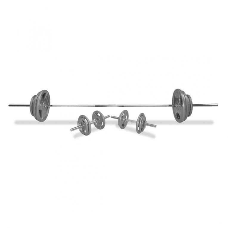Body Power Tri-Grip Combi Standard Weight Set
