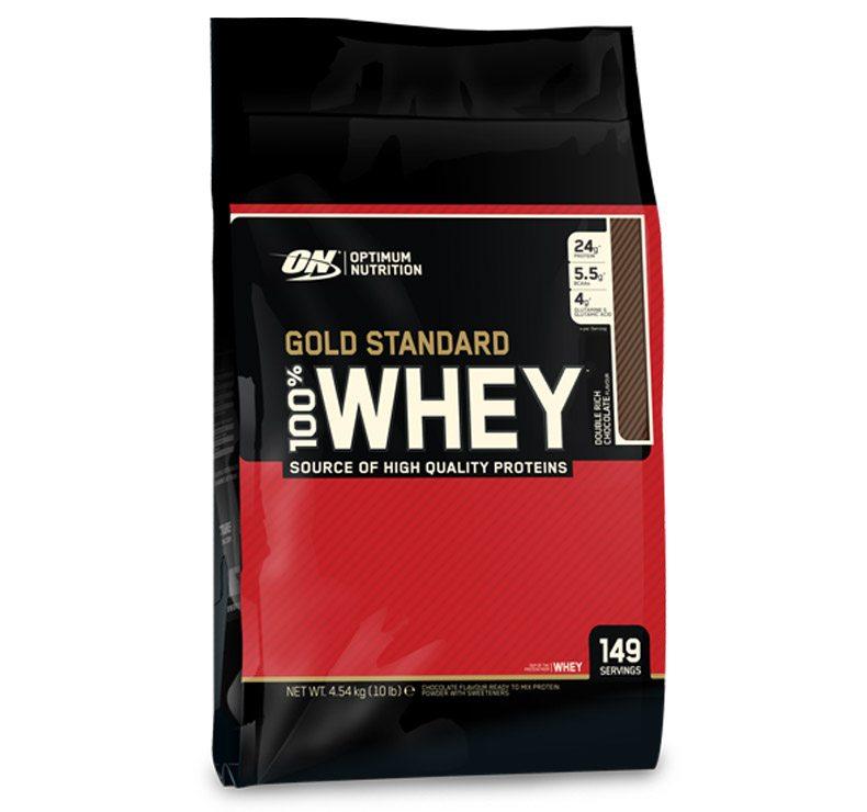 Optimum Nutrition Gold Standard 100% Whey – 4.54kg