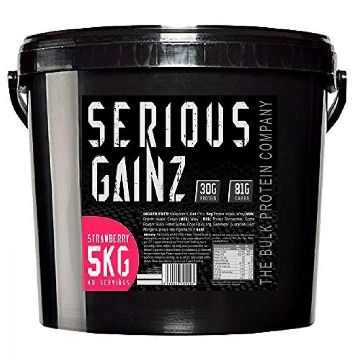 The Bulk Protein Company Serious Gainz – 5kg