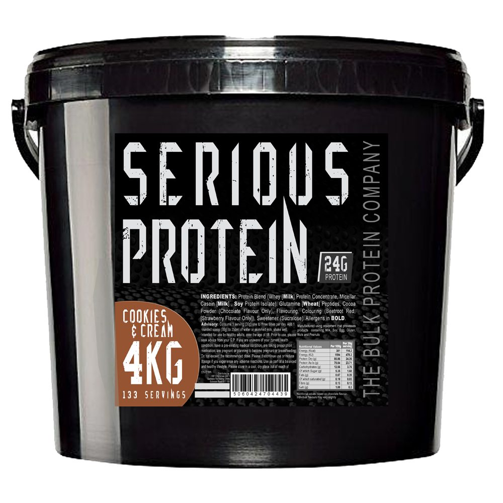 The Bulk Protein Company Serious Protein – 4kg