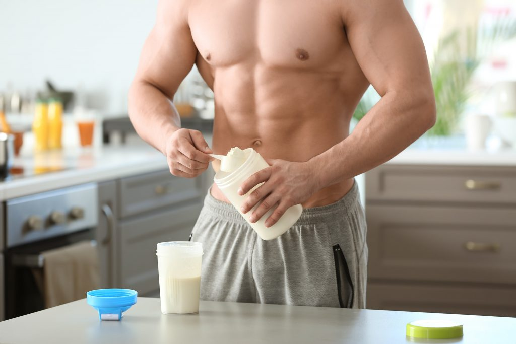 how many protein shakes per day is safe