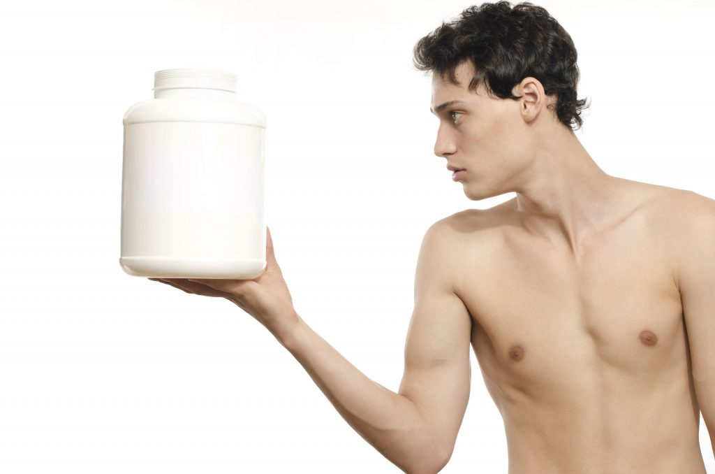 how many protein shakes per day to gain weight