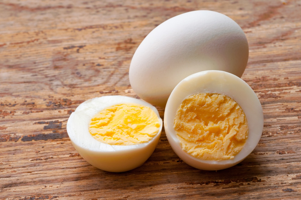 Hard Boiled Eggs High Protein Bodybuilding Snack