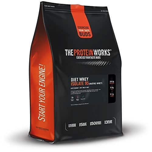 The Protein Works Diet Whey Isolate 95