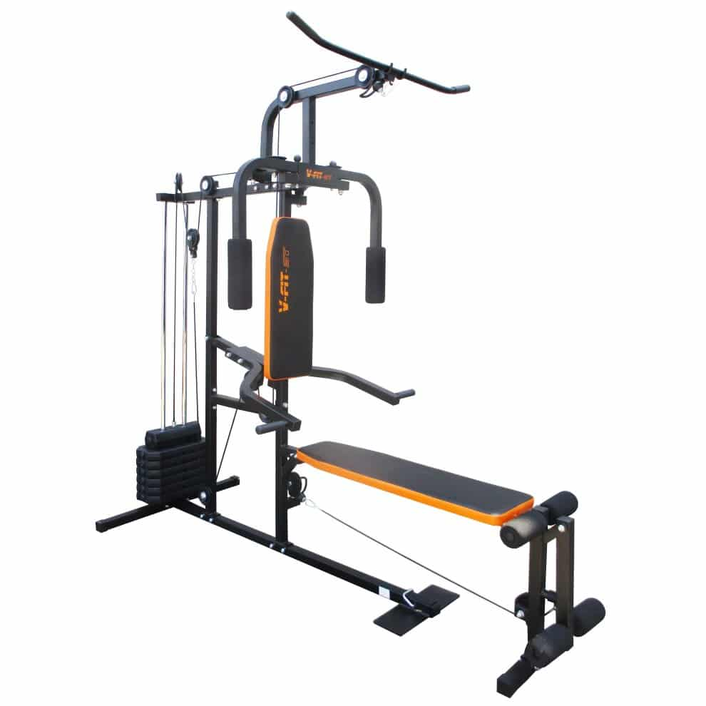 V-Fit Herculean LFG2 Lay Flat Home Multi Gym