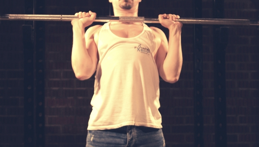 Strict Press How To Step 3 Lift Chest