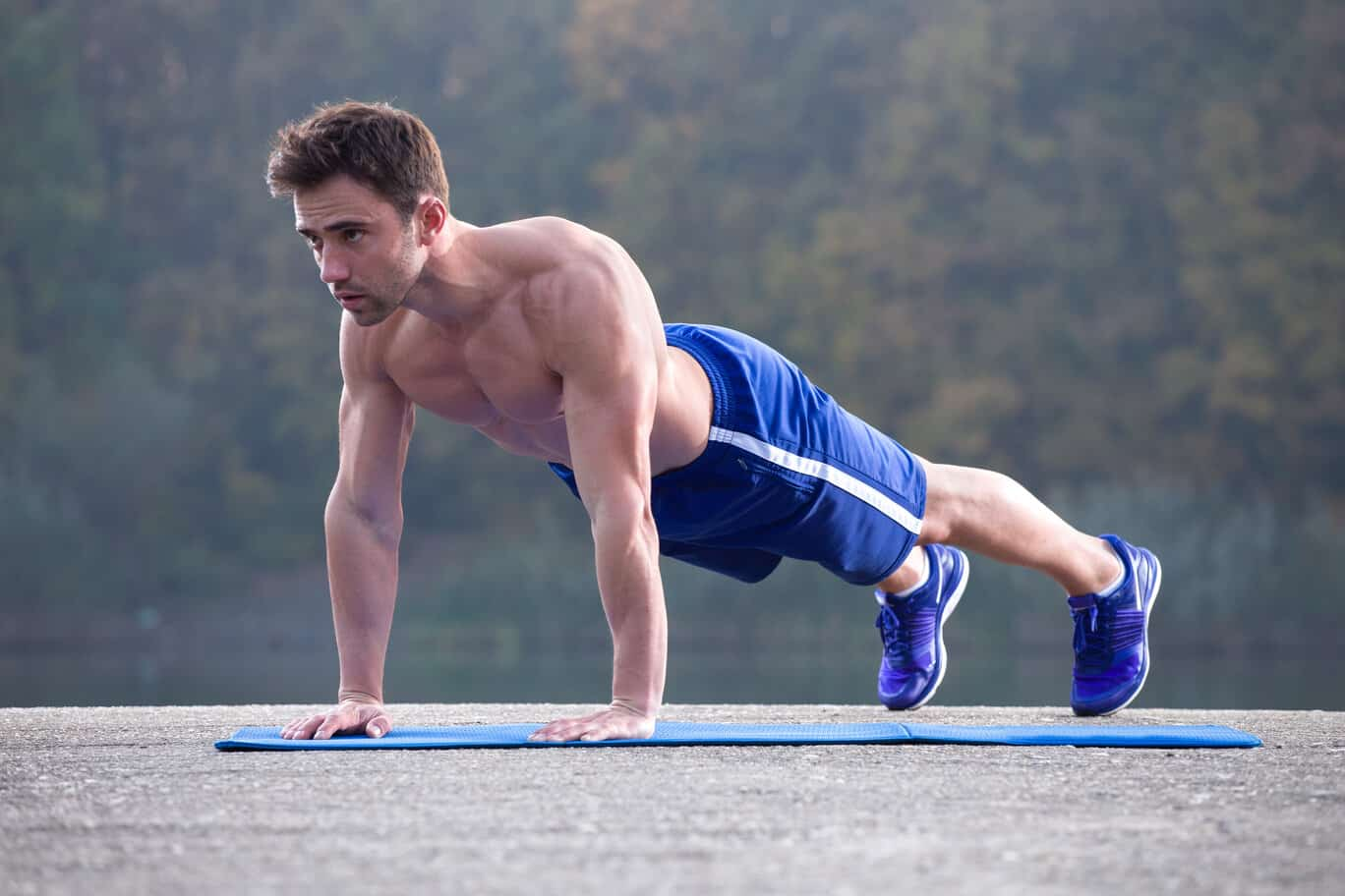 outdoor push up